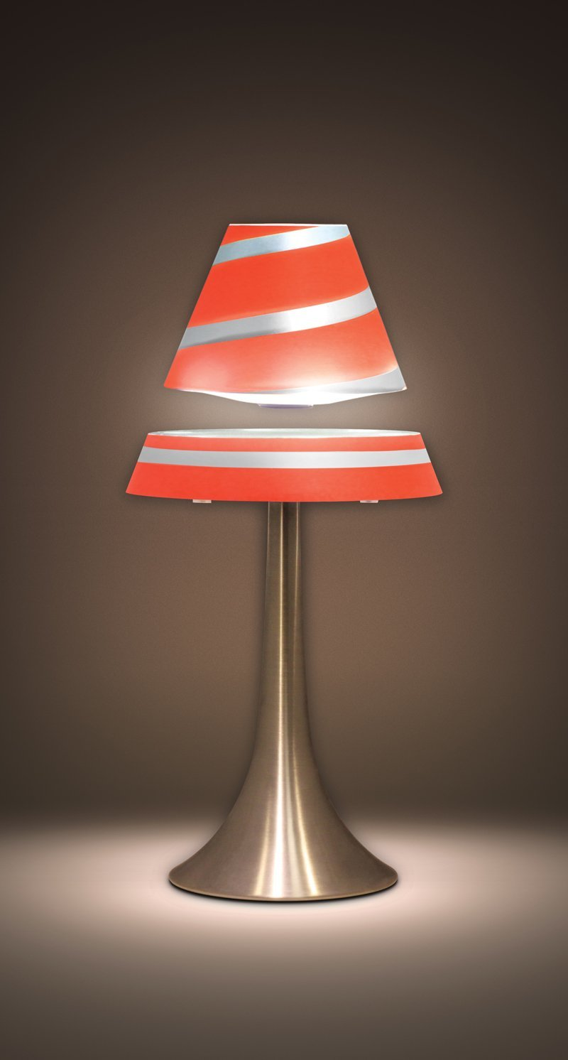Amazon.com  Fascinations Levitron Lamp Red - MAIN