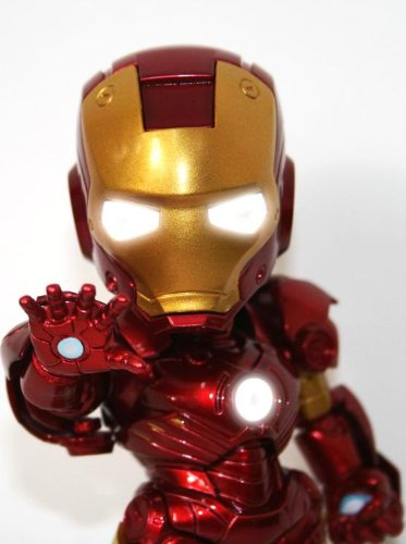 11. IRON MAN TOY Voice control operated switch LED light