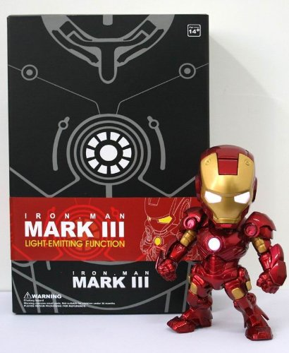 12. IRON MAN TOY Voice control operated switch LED light