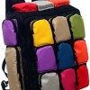 Colorful Multi Color Cute Large Capacity Laptop Travel Sports Bag Backpack