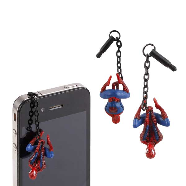 Marvel Character Spiderman Earphone Jack Accessory