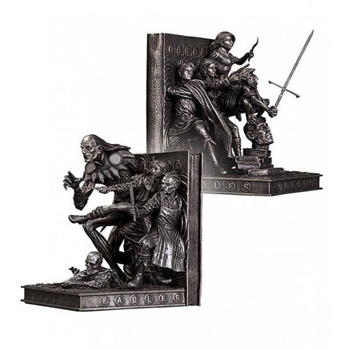 Fables bookends statues - Hobbit book ends ...
