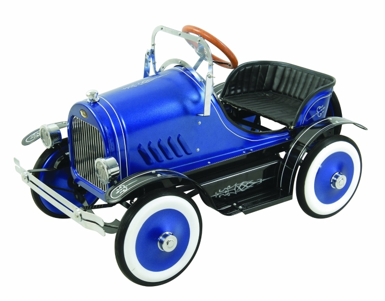 Deluxe Blue Roadster Pedal Car Blue