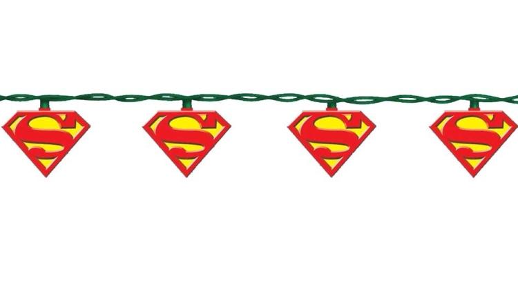 Superman 10-Light Light Set