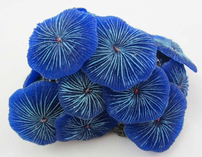 Aquarium Fish Tank Silicone Sea Anemone Artificial Coral Ornament