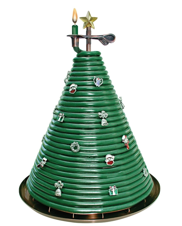 300 hour Christmas Tree Candle