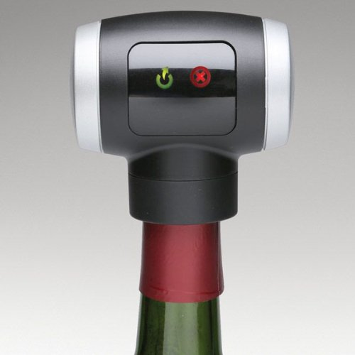 AUTOMATIC WINE STOPPER AND SEALER
