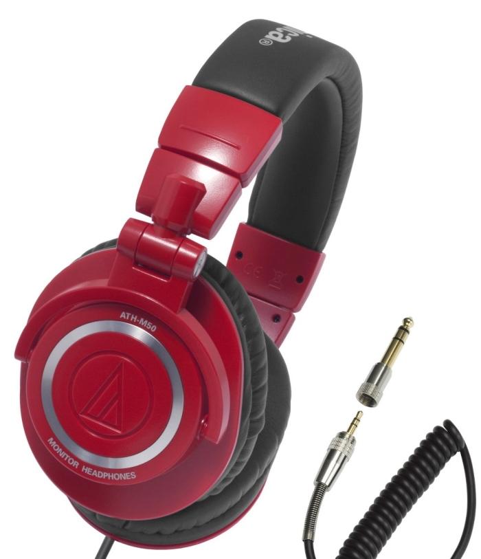 Audio Technica ATHM50RD Pro DJ Headphones