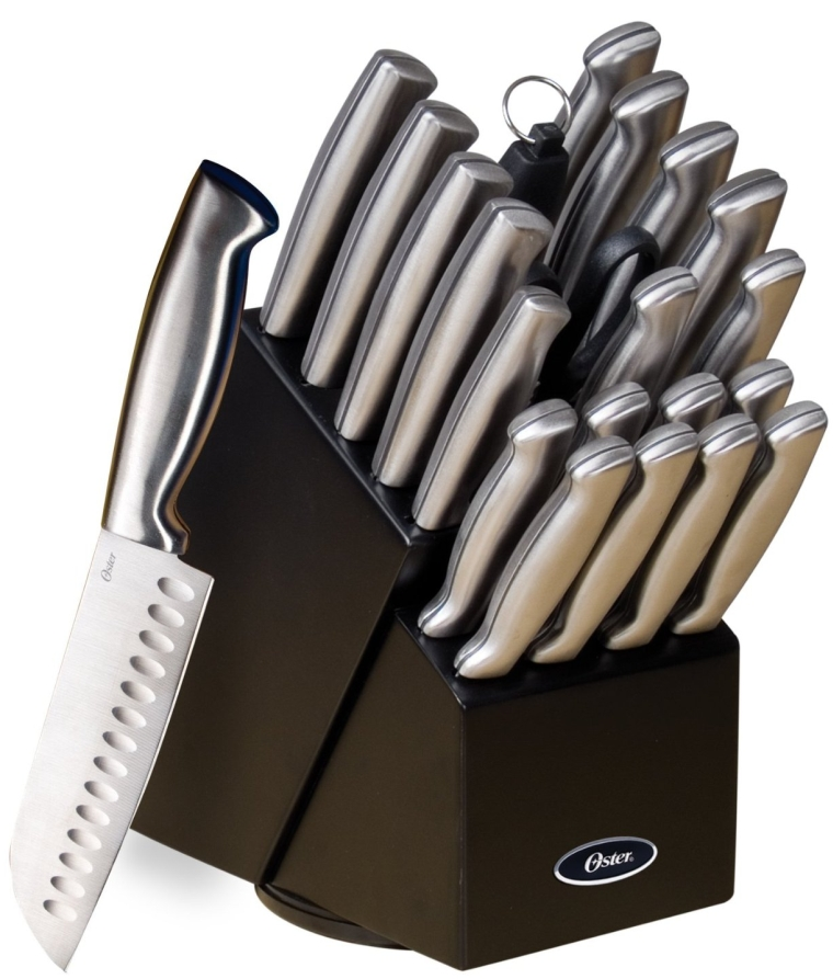 Baldwyn 22-Piece Cutlery Block Set