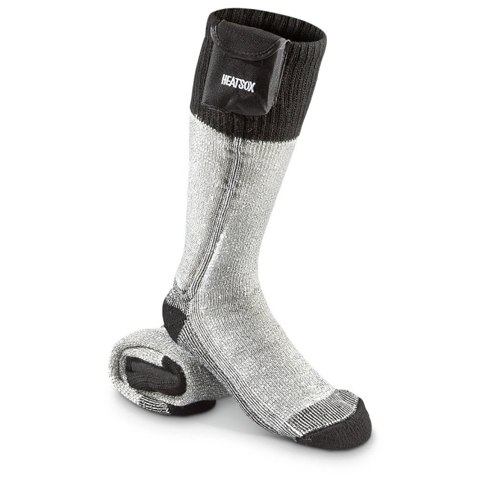 Battery-powered Wader Socks Black