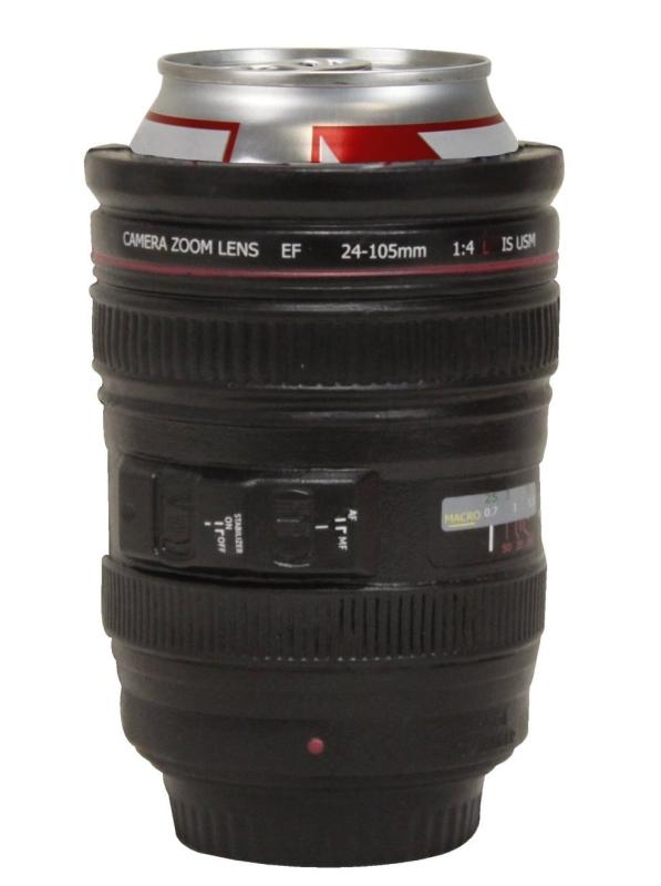 Can-Era- Camera Lens Koozie Drink Cooler