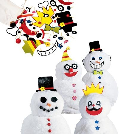 Decorate-a-Great Snowman Kit