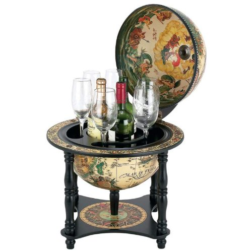 Diameter Italian Replica Globe Bar