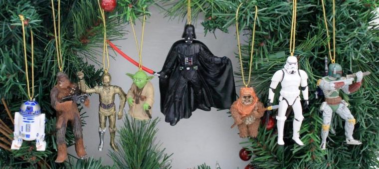 Disneys Star Wars Holiday Ornament Set