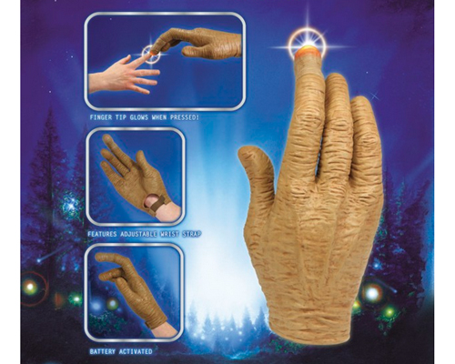 E.T. HAND WITH LED FINGER