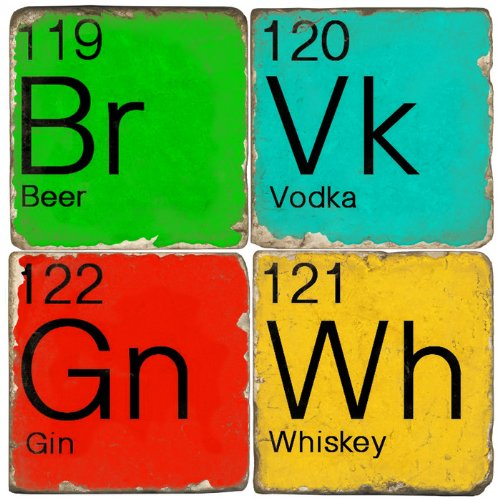 Elements Drink Coasters