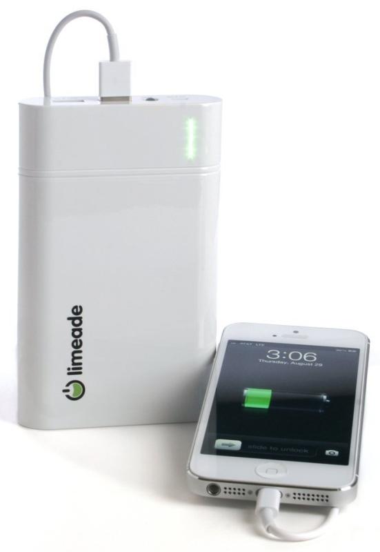 External Battery Pack 18000mAh Flashlight