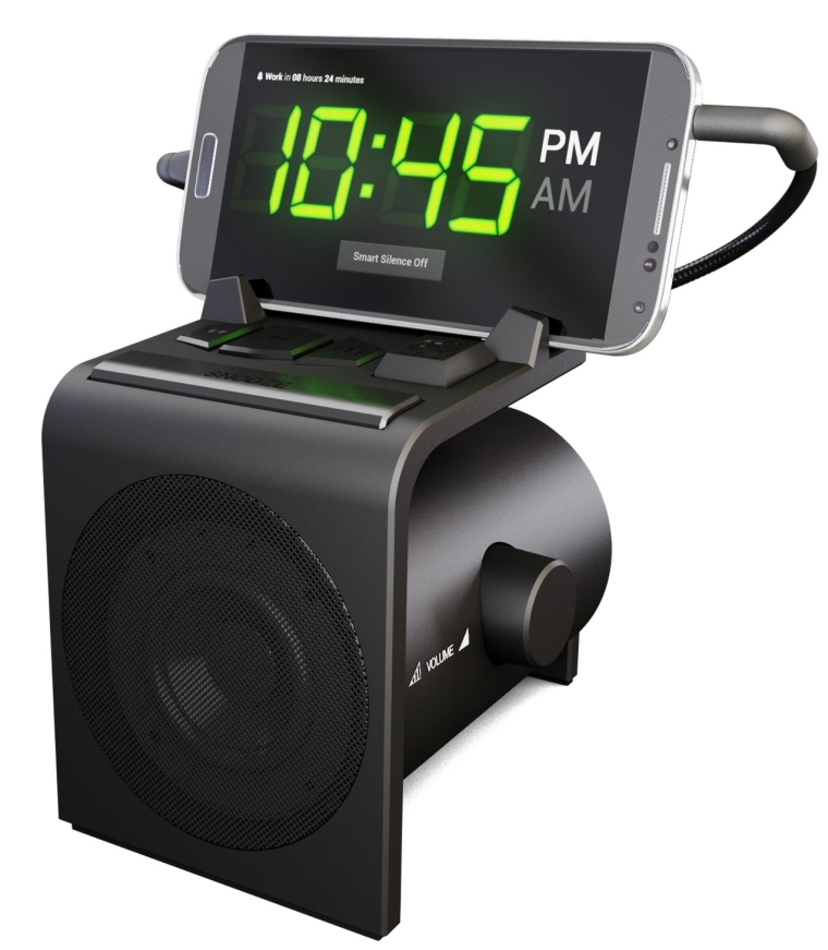 Hale Dreamer Alarm Clock Speaker Dock for Android Phones
