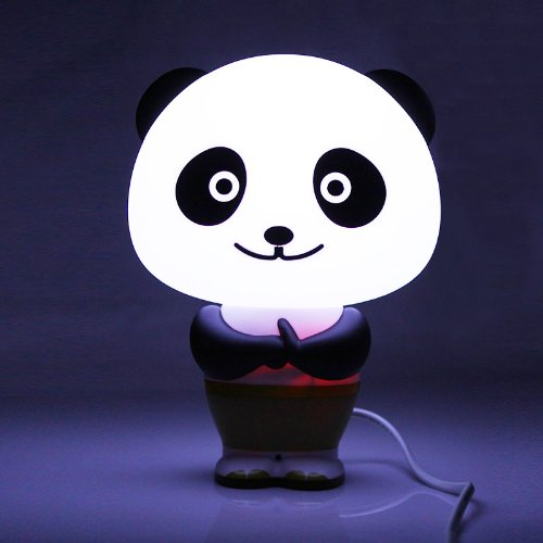 LED Intelligent Desk Light Lamp Voice Control Alarm Clock