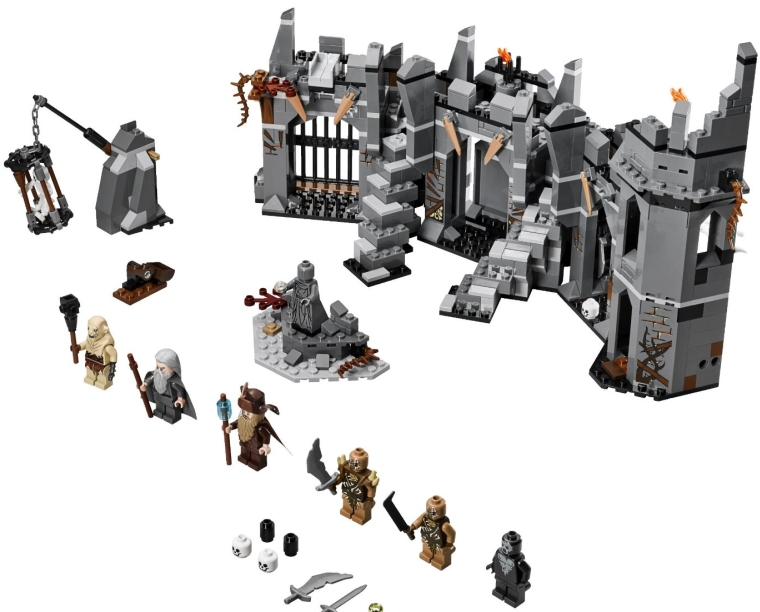 LEGO Lord of the Rings 79014 Dol Guldur Battle Building Kit
