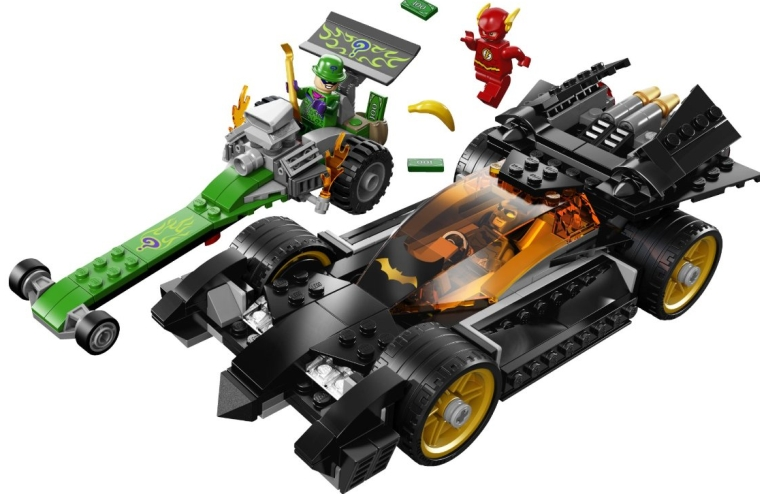 LEGO Superheroes Batman The Riddler Chase