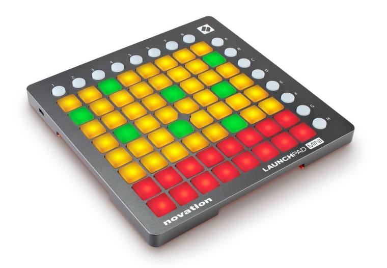 Launchpad Mini USB Midi Controller for Performing and Producing Music with iPad, Mac and PC