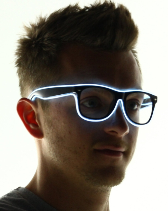 Light Up El Wire Sunglasses