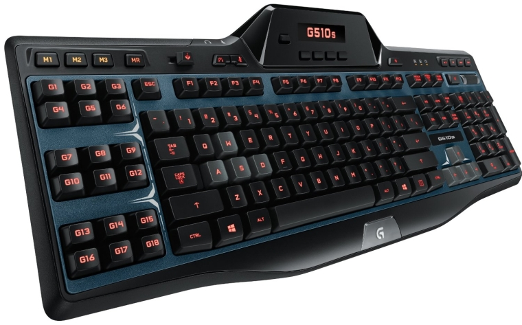 Logitech G510s Gaming Keyboard with Game Panel LCD Screen