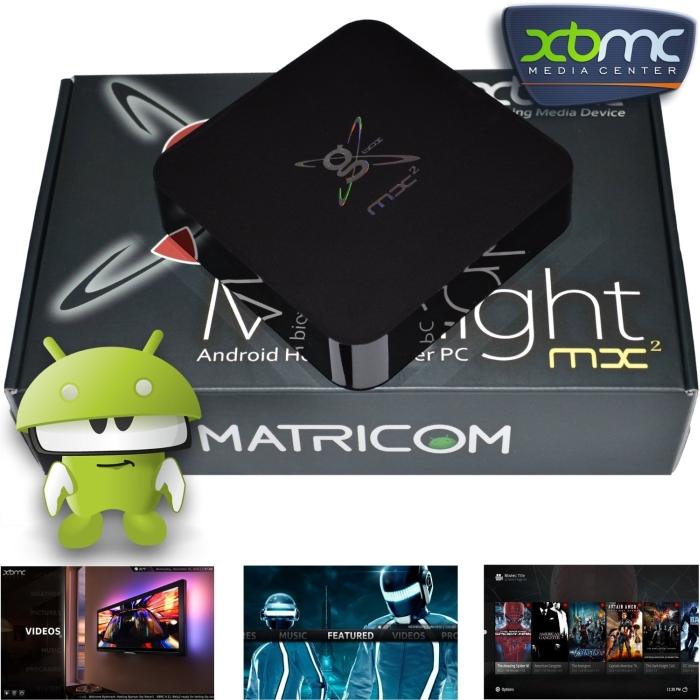 Matricom G-Box MX2 Dual Core XBMC Android 4.2 TV Box