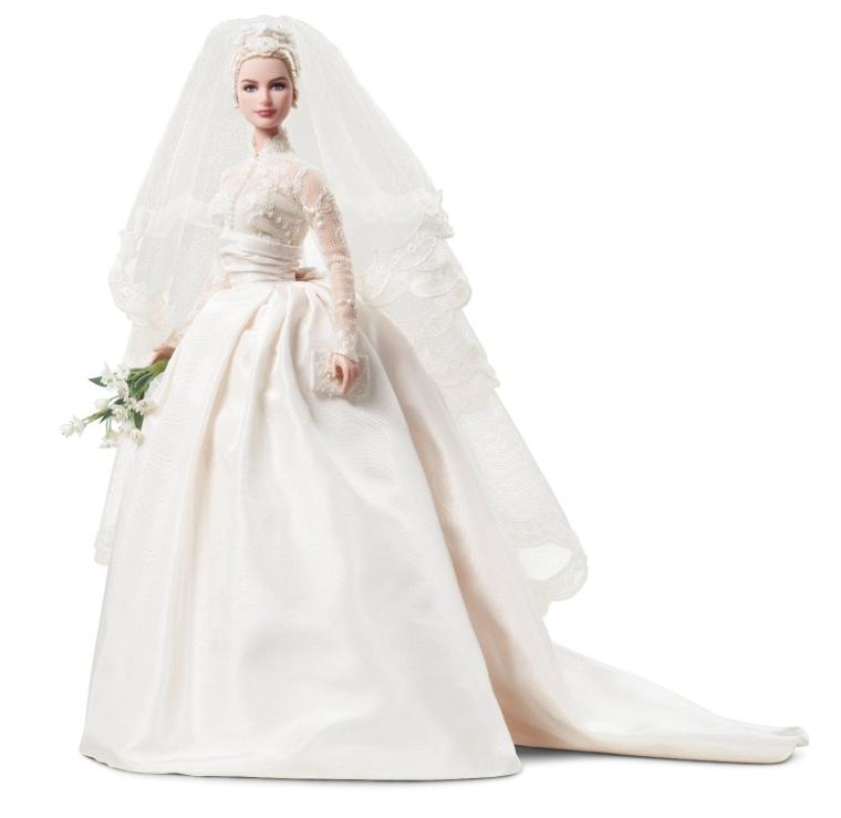 Mattels Barbie Princess Grace Kelly Bride in Silkstone