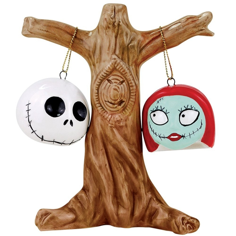 Nightmare Before Christmas Jack And Sally Shakers Salt Pepper