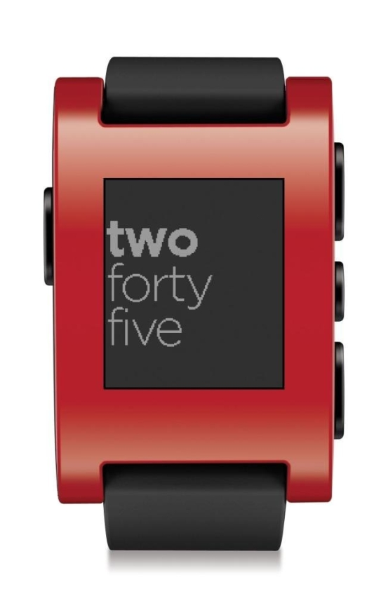 Pebble Smart Watch for iPhone and Android Devices