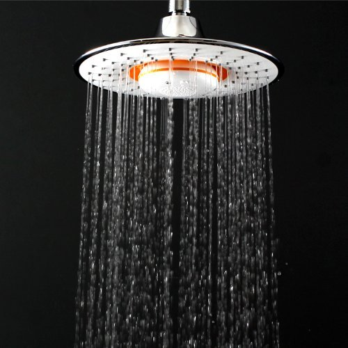 Showerhead Waterproof Music Jet Bluetooth Wireless MusicPhone Speaker