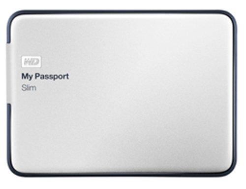 Slim 2TB Portable Metal External Hard Drive USB 3.0