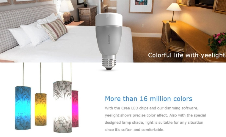 Smart Bulb Bluetooth 4.0 Control W IOS Android Apps iPadiPhone