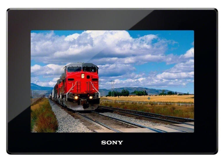 SonyInch Digital Photo Frame with HD Playback with Remote