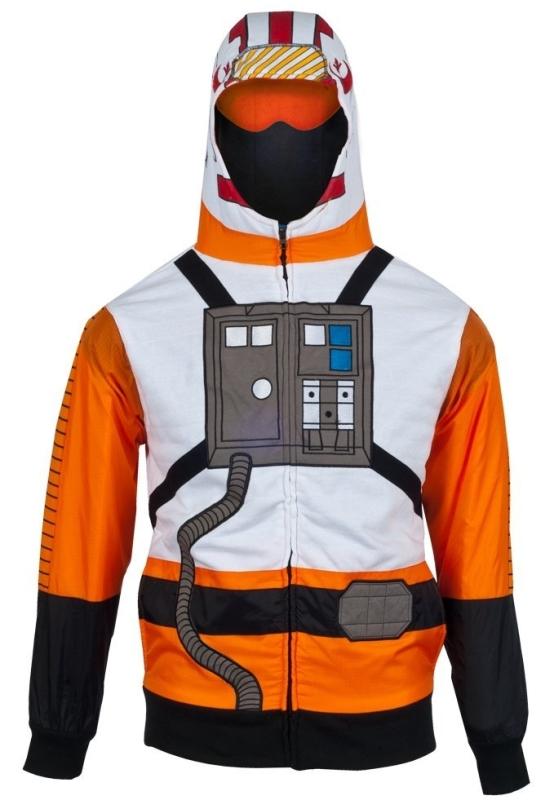 Star Wars XWing Flight Suit Costume Hoodie
