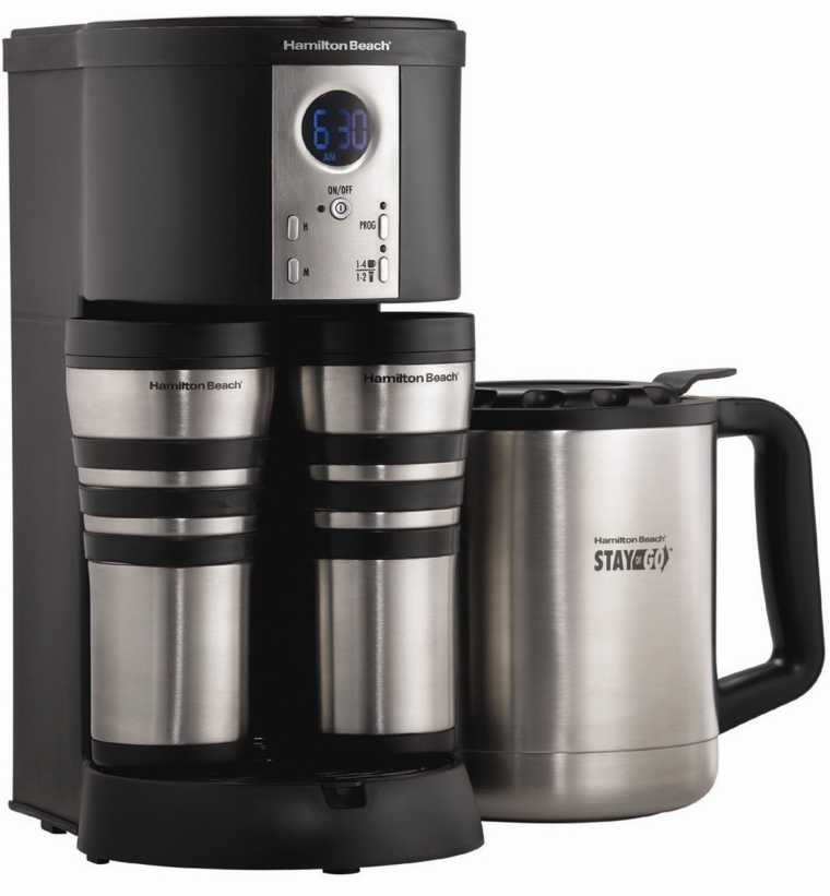 Stay or Go Custom Pair Coffeemaker