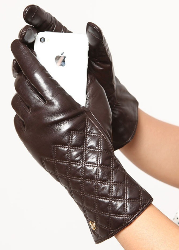 Touch Screen Nappa Leather Winter Gloves Iphone Ipad Smart Phone