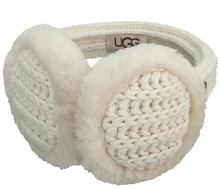 UGG Australia Marled Cardy Wired Earmuff Cream