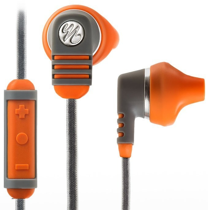 Water Resistant iPhone Mic & Remote Sport Earphones