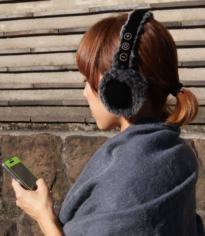 earmuffs with Bluetooth