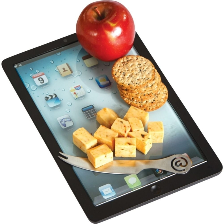 Tablet Shape Cheese Board 7 Gadgets