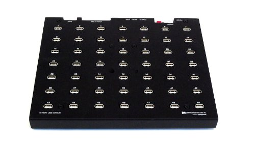 49 port USB Hub to Sync iPads iPhones  iPods and Many Other Devices