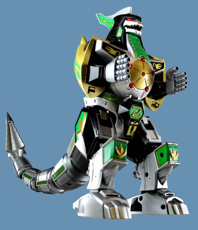 Bandai Power Rangers Legacy Dragonzord