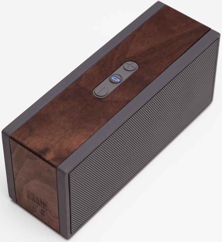 Grain Audio PWS Packable Walnut Encased Bluetooth Wireless Speaker System