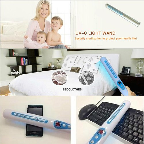 Portable UV Sanitizer Hand Wand Ultra Violet Light