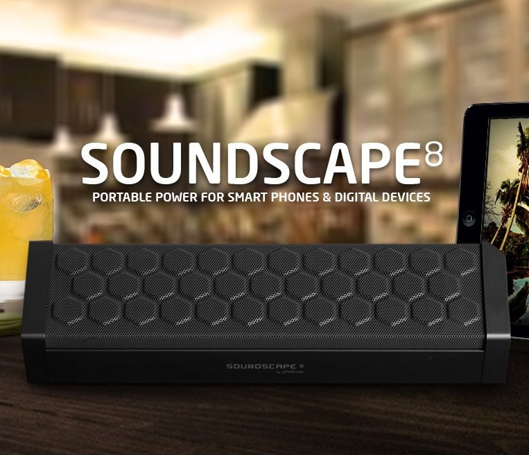 Portable Wireless Bluetooth Speaker with 8 Hour Battery and Built in Speakerphone