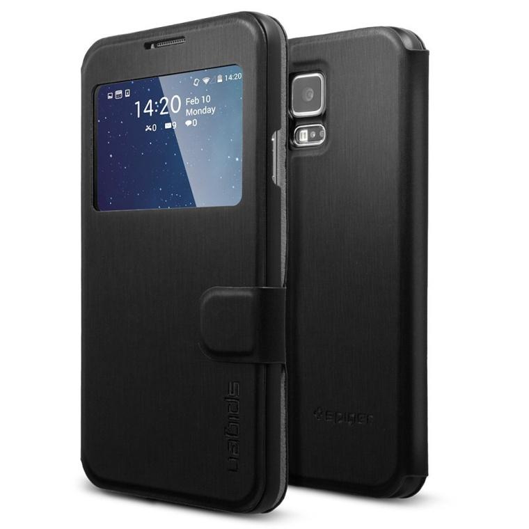 Spigen Samsung Galaxy S5 Case Flip