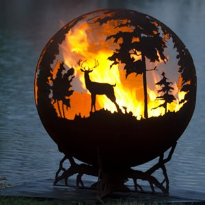 Up North Hand Crafted Steel Fire Pit
